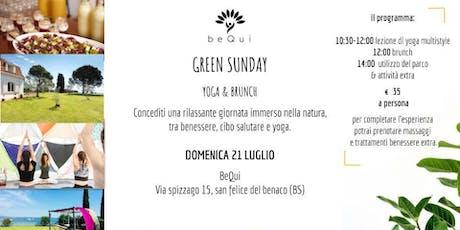 Green Sunday biglietti