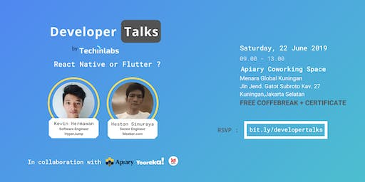 Developer Talks #7 : React Native or Flutter ?