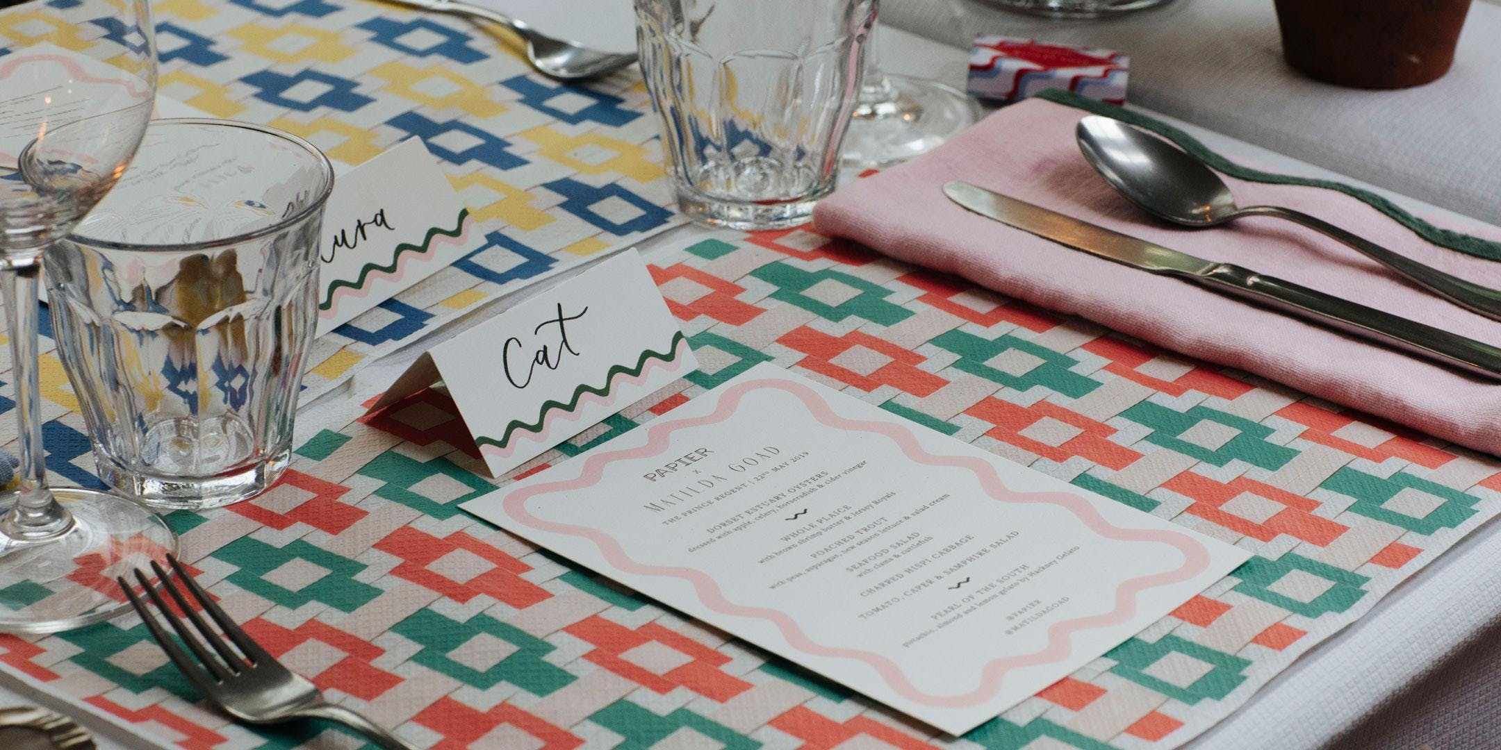 Supper Club with Mia Le Chef styled by Matilda Goad