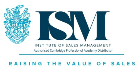 ISM Level 3 - Handling Objections, Negotiating and Closing Sales tickets