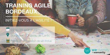 Les bases de l'Agile - Weniversity d'été à Bordeaux (29 août) billets
