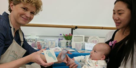 Baby Footprints on pottery - Beckenham tickets