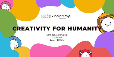 Creativity For Humanity tickets
