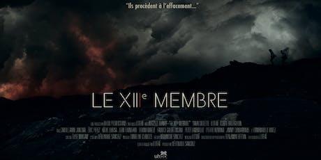 LE XIIIe MEMBRE  court-métrage réalisé par Lotfaï billets