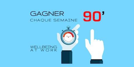 Workshop gratuit: GAGNER CHAQUE SEMAINE 90' billets