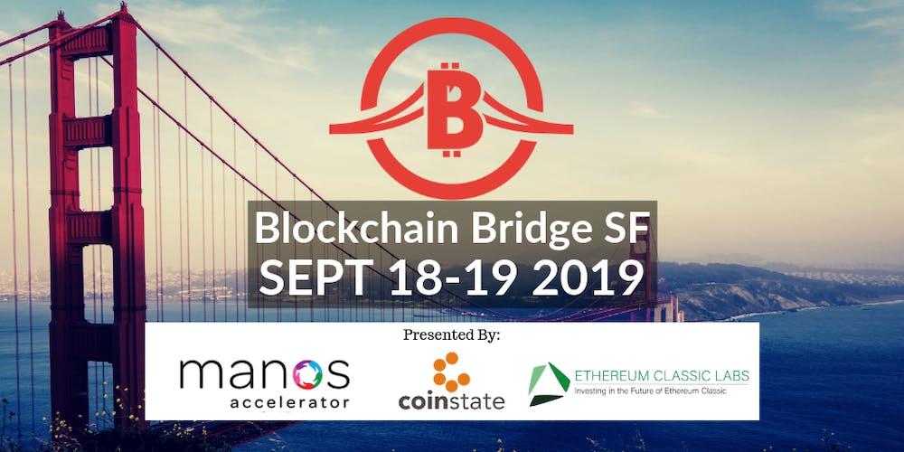 Blockchain Bridge SF Conference - BUILD & INVEST Tickets