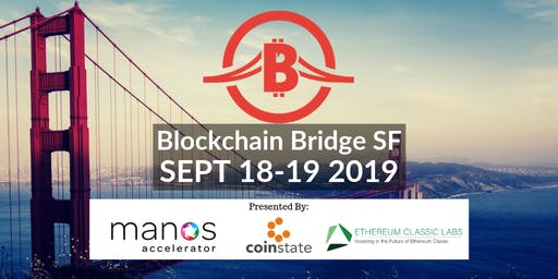 Blockchain Bridge SF Conference - BUILD & INVEST