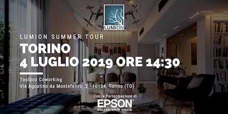 Presentazione Lumion Torino biglietti