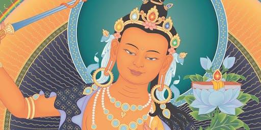 Illuminating wisdom – Manjushri Empowerment (November)