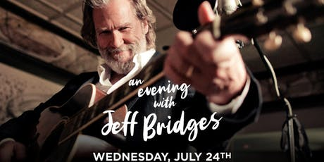 An Evening with Jeff Bridges tickets
