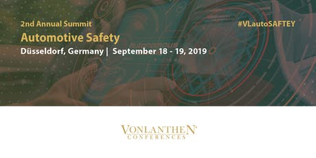 2nd Annual Automotive Safety Summit Tickets