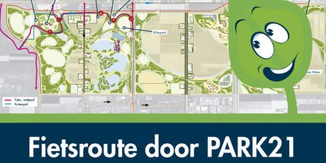 Fietsroute door PARK21 tickets