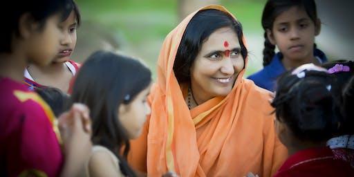 FREE: Satsang and Pravachan with Didi Maa Sadhvi Ritambhara