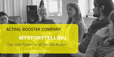 Der rote Faden in all Deinen Rollen: my Storytelling Tickets
