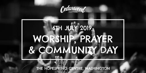 Cedarwood : Worship, Prayer & Vision Day