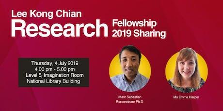 Lee Kong Chian Research Fellowship 2019 Sharing tickets