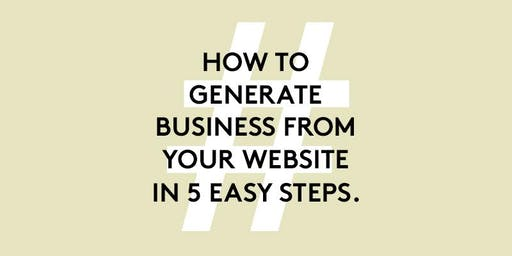 BNI Exclusive | How to generate business from your website