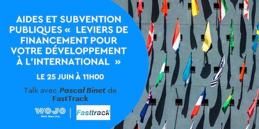 Leviers de financement pour votre Développement à l'International