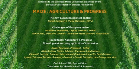 Maize: Agriculture & Progress tickets