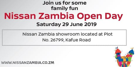 Nissan Zambia Open Day tickets