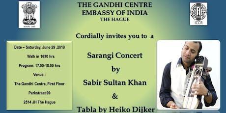 Sarangi Concert by Sabir Sultan Khan tickets