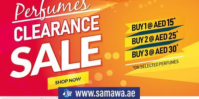 Perfumes Clearance Sale