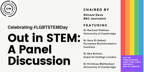 Out in STEM: A Panel Discussion tickets