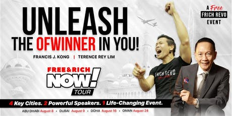 Free and Rich Now Tour: Unleash the OFWinner in You! (Qatar) tickets