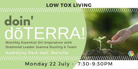 PERTH doin' dōTERRA - Low Tox Living tickets