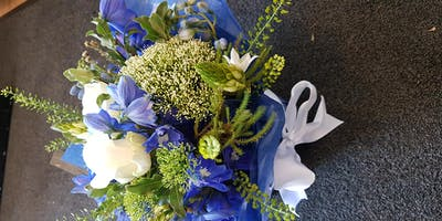 Learn the art of Hand tied flowers