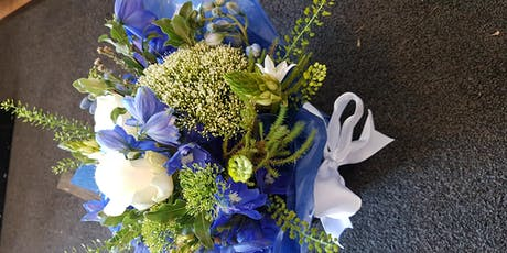 Learn the art of Hand tied flowers tickets
