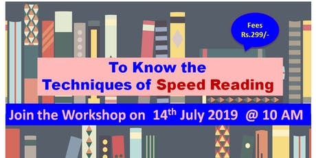 Learn Techniques of Fast Reading tickets
