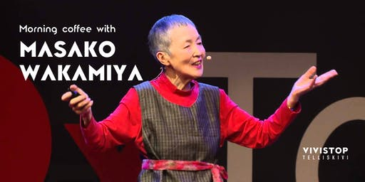 Hommikukohv  Masako Wakamiyaga / Morning coffee with Masako Wakamiya