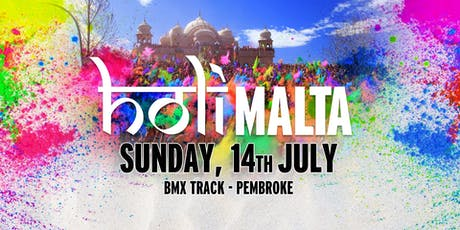 Holi Malta 2019 - Colours of Summer (Sunday,14th July) tickets