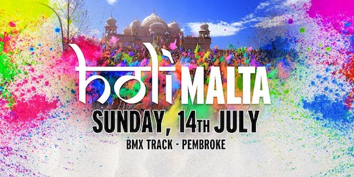 Holi Malta 2019 - Colours of Summer (Sunday,14th July)