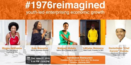 Tshwane: #1976reimagined: youth-led enterprising economic growth tickets