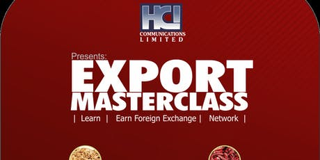 Export Masterclass tickets