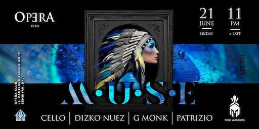 GEM x Tech Warriors presents: MUSE at Opera Night Club!