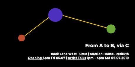 Cultivator Celebration Week | Exhibition: From A to B, via C tickets