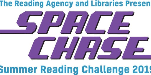 Space Chase Launch Volunteers ( Bearsden Library)