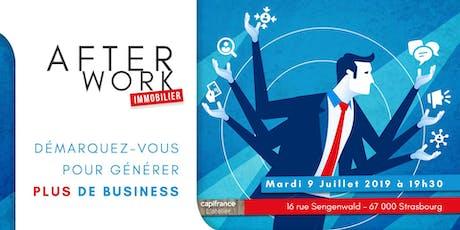 Afterwork Immobilier - 9 Juillet - Strasbourg billets