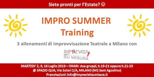 Impro Summer Training - Allenamenti di Improvvisazione Teatrale