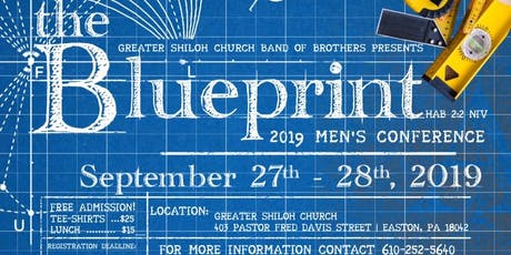2019 GSC Men's Conference - The Blueprint (Habakkuk 2:2) tickets
