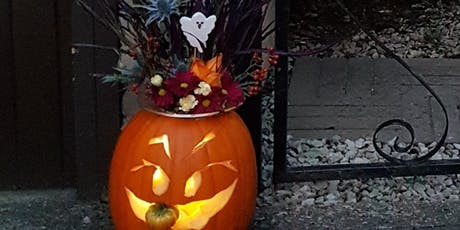 Halloween flower arranging workshop for adults tickets