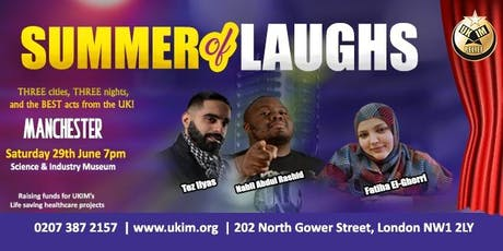 SUMMER of LAUGHS Comedy Tour tickets