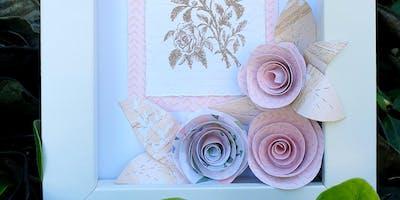 SJ Creators  - Paper Flower Frame