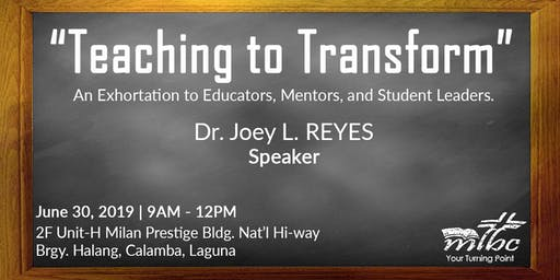 Teaching to Transform