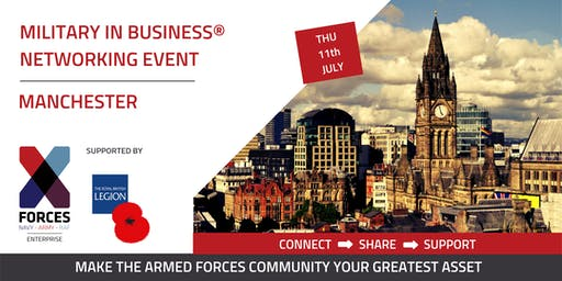 Military In-Business Networking Event. Manchester