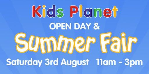 Kids Planet Beamont Summer Fair & Open Day