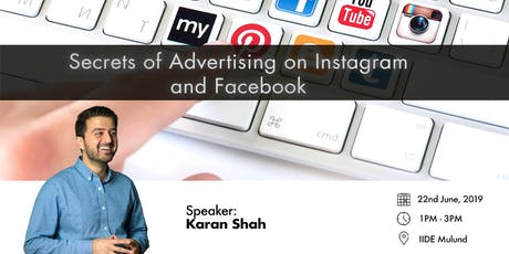 Secrets of Advertising on Facebook and Instagram tickets
